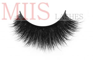 mink strip eyelashes customized box