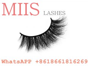 synthetic mink fur eyelash